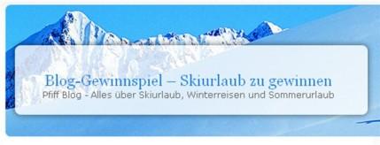 Blogschnitzeljagd Skiurlaub zu gewinnen