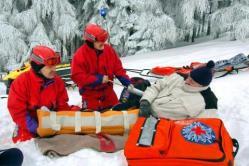 Unfälle im Skiurlaub